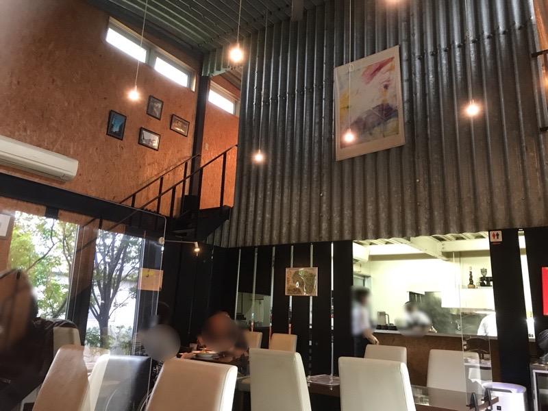 犬山ランチ イタリアン ヴィーチェ 店内