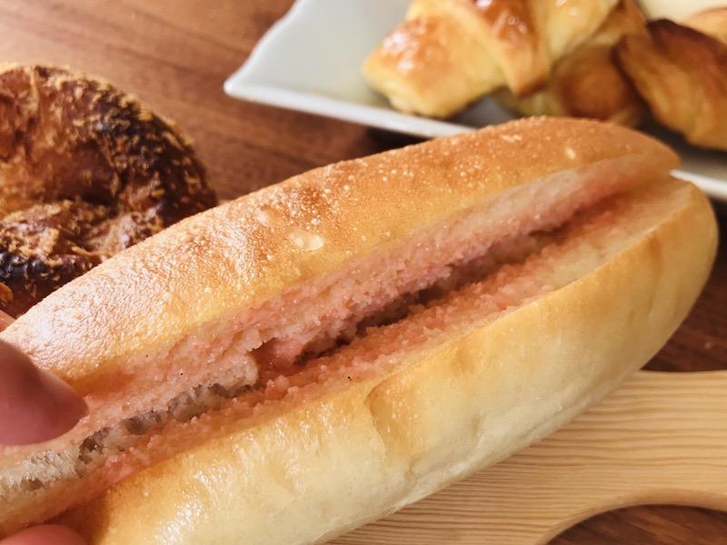 ぱんの音の明太フランスパン