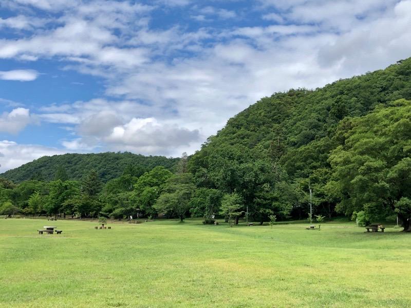 桃太郎公園キャンプ場2020年6月12日