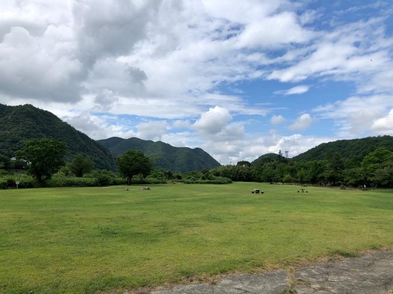 桃太郎公園キャンプ場コロナの影響下0612