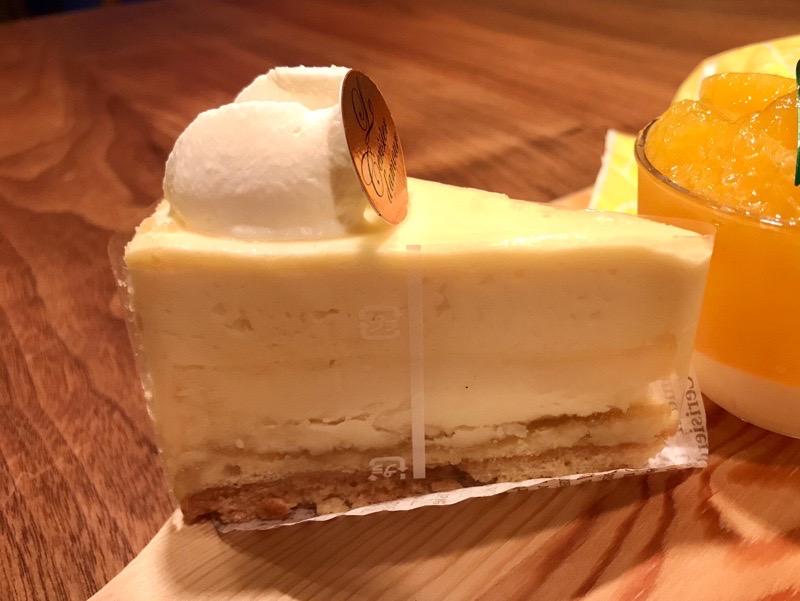 ル・スリジェダムールのチーズケーキエクスキ