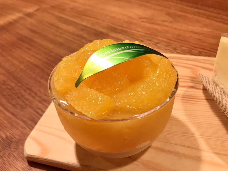 ル・スリジェダムールのオレンジゼリー