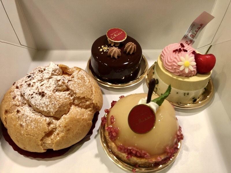 Patisserie La Mieux(パティスリーラミウ)のケーキ