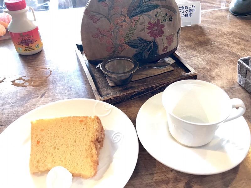 Gallery&Cafe【コントレール】のシフォンケーキ