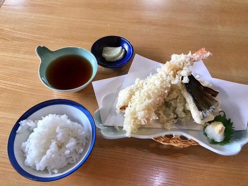 犬山の日本料理八幡の天ぷら