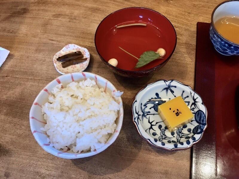 豆腐かふぇ浦嶌玉手箱ランチ3