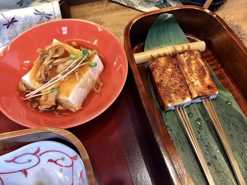 豆腐かふぇ浦嶌玉手箱ランチ4