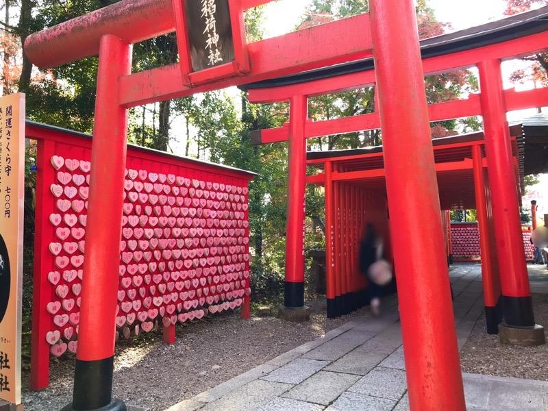国宝 犬山城6 三光稲荷神社