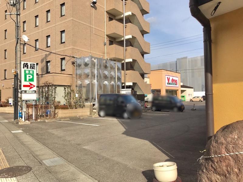 犬山 角屋3 駐車場