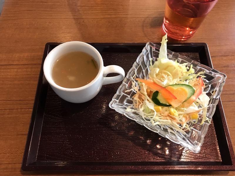 ミトチャカリー17 ランチ サラダ スープ