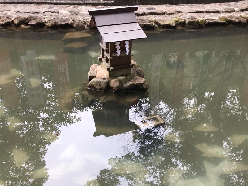 犬山観光 大縣神社6 むすひ池