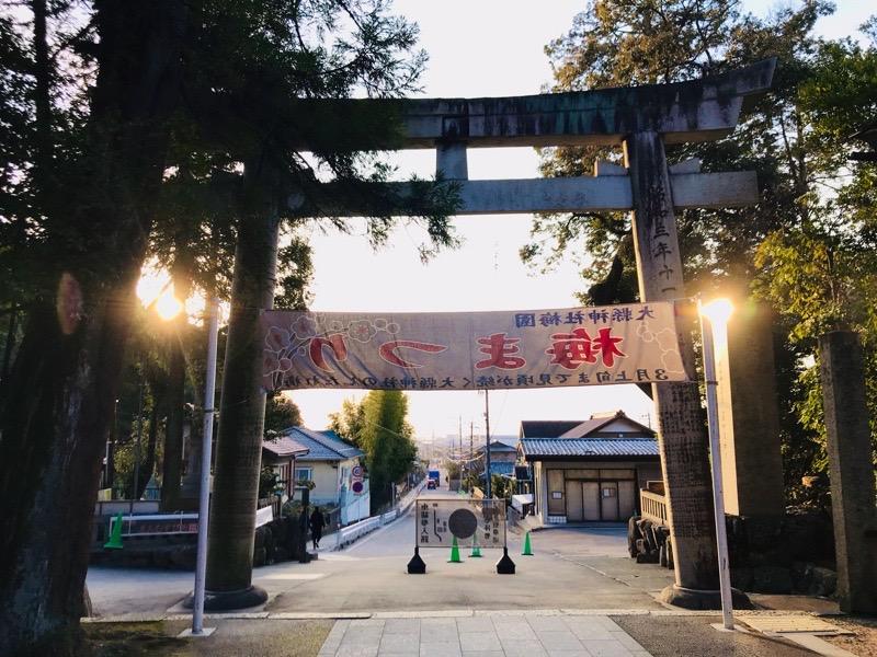 犬山観光 大縣神社29 景色