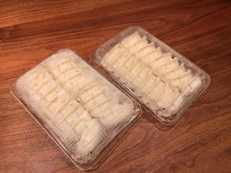犬山 餃子 雪松 焼き方2