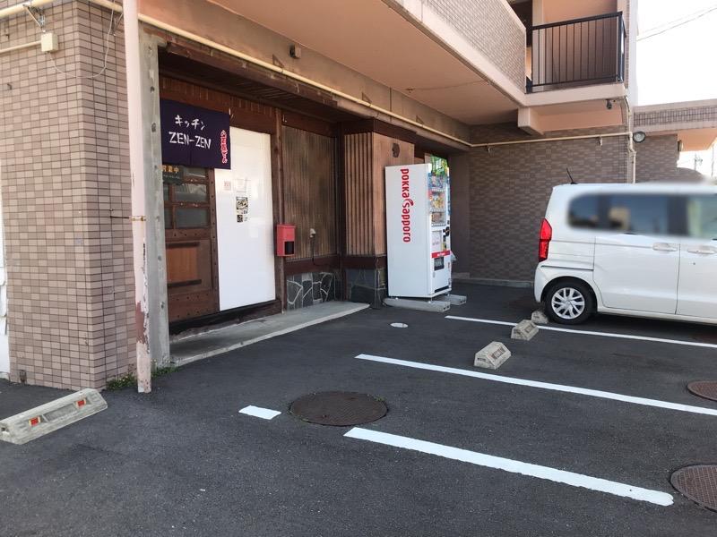 犬山 キッチンゼンゼン2 お弁当 駐車場
