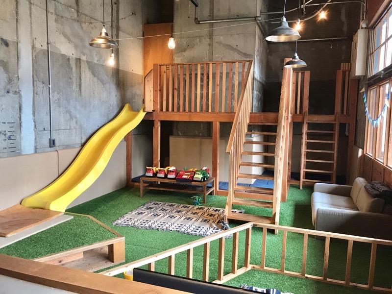 犬山 ハチ公園6 レンタルスペース 店内 遊具