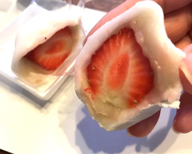 犬山 和菓子 若松屋阡壱13 いちご大福
