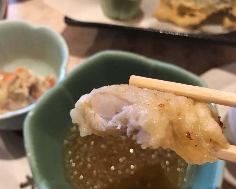犬山 レストラン大安18 ランチ とり天 天ぷら