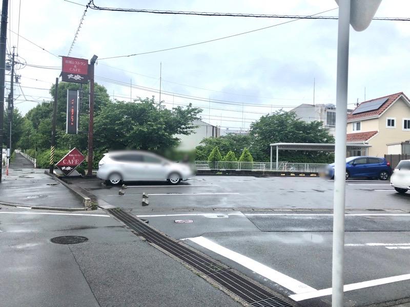 犬山 レストラン大安3 駐車場
