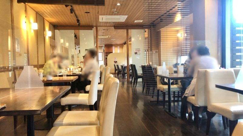 犬山 レストラン大安7 店内