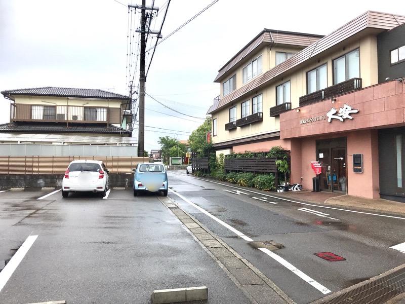 犬山 レストラン大安4 駐車場