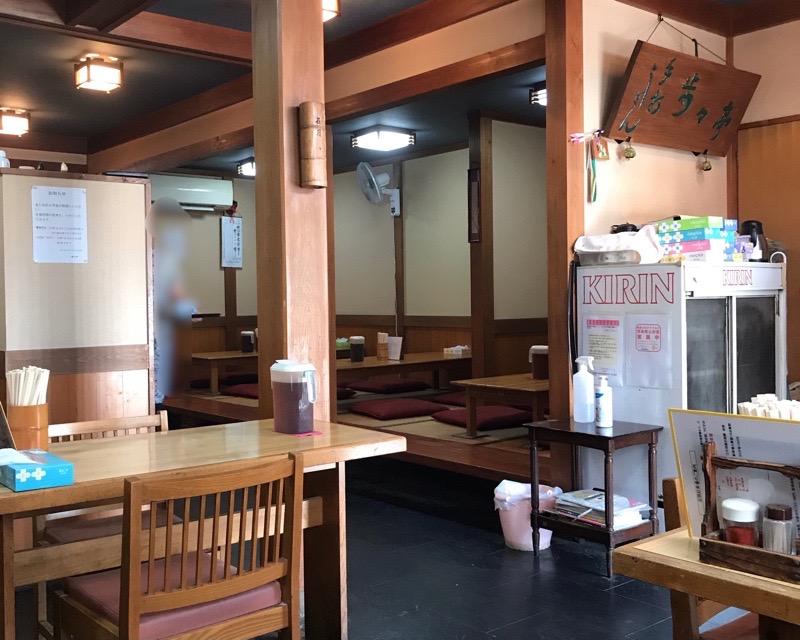犬山 小牧 歩々亭7 カレーうどん 店内