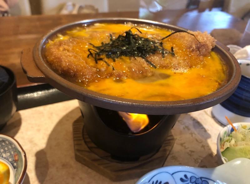 犬山 レストラン大安11 ランチ かつ鍋