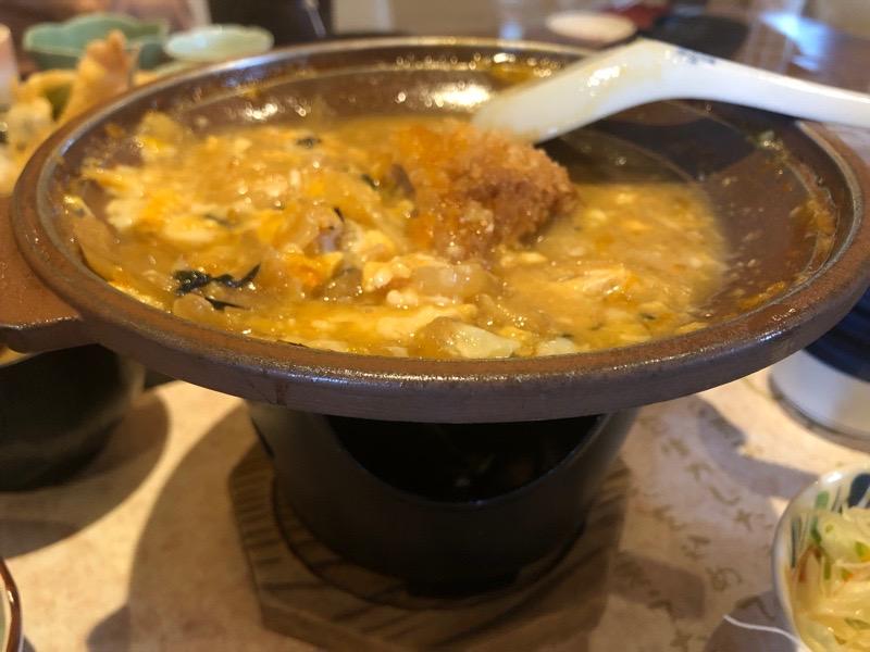 犬山 レストラン大安25 ランチ かつ鍋