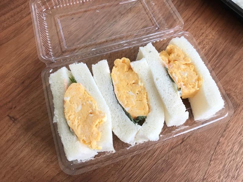 犬山 ひゃくにんごはん6 テイクアウト ランチ 厚焼き玉子サンドイッチ