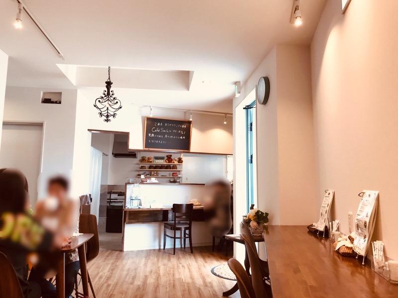 犬山 カフェスマイル3 モーニング 店内 羽黒 オープン