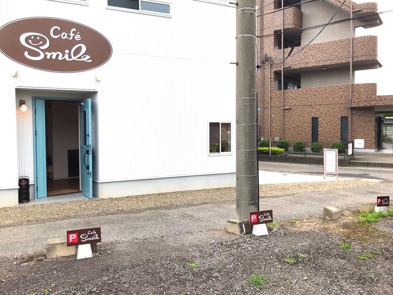 犬山 カフェ スマイル2 駐車場 外観 羽黒 モーニング ランチ