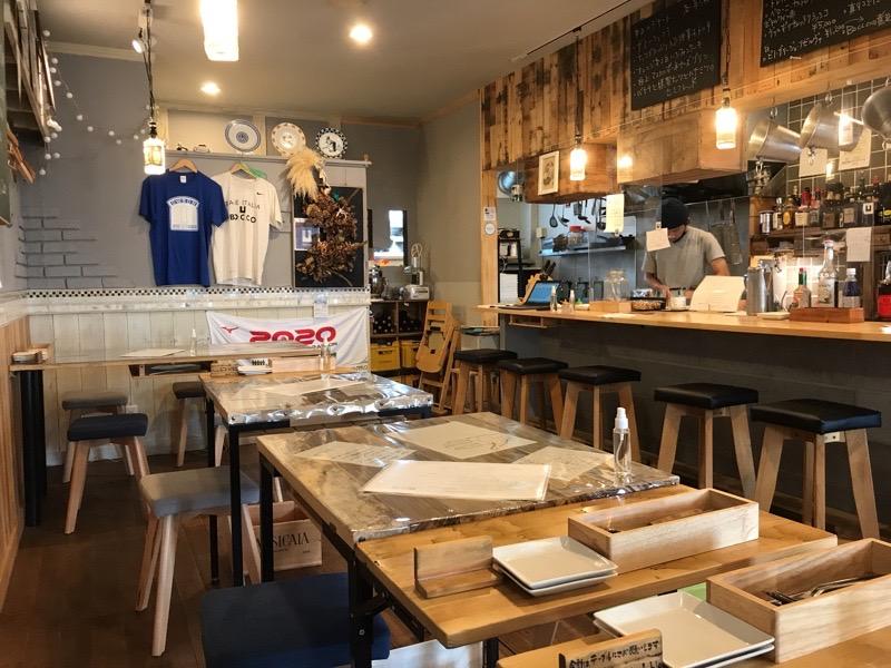 犬山 ランチ ボッコ BOCCO5 店内 イタリアン ディナー