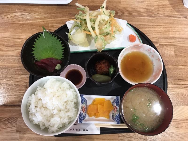 犬山 トミー 和食 日替わりランチ