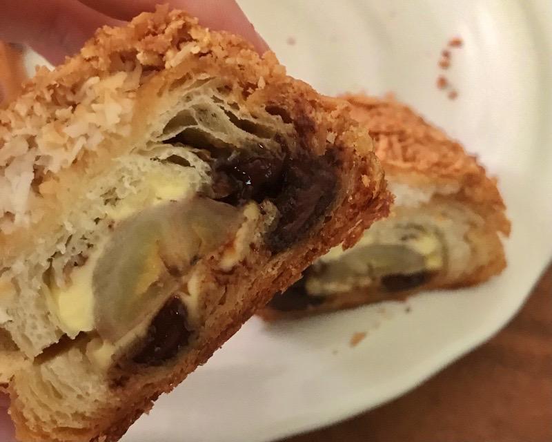 犬山 パン ブーランジェリープーブー ココナッツ チョコ バナナ