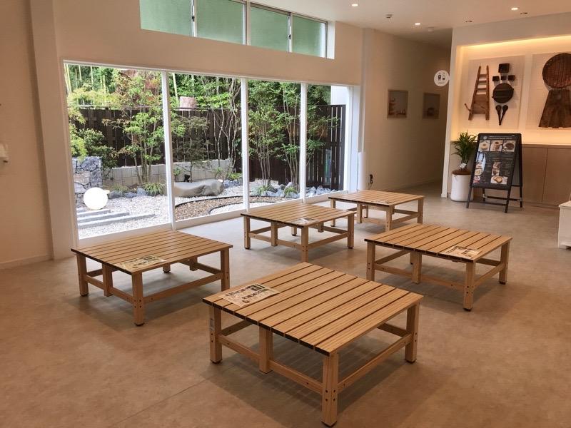 犬山城下町 ココトモファーム バウムクーヘン 無料休憩所